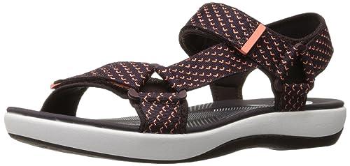 08a4f6d86b58 Clarks Women s Brizo Cady Flat Sandal  Amazon.ca  Shoes   Handbags
