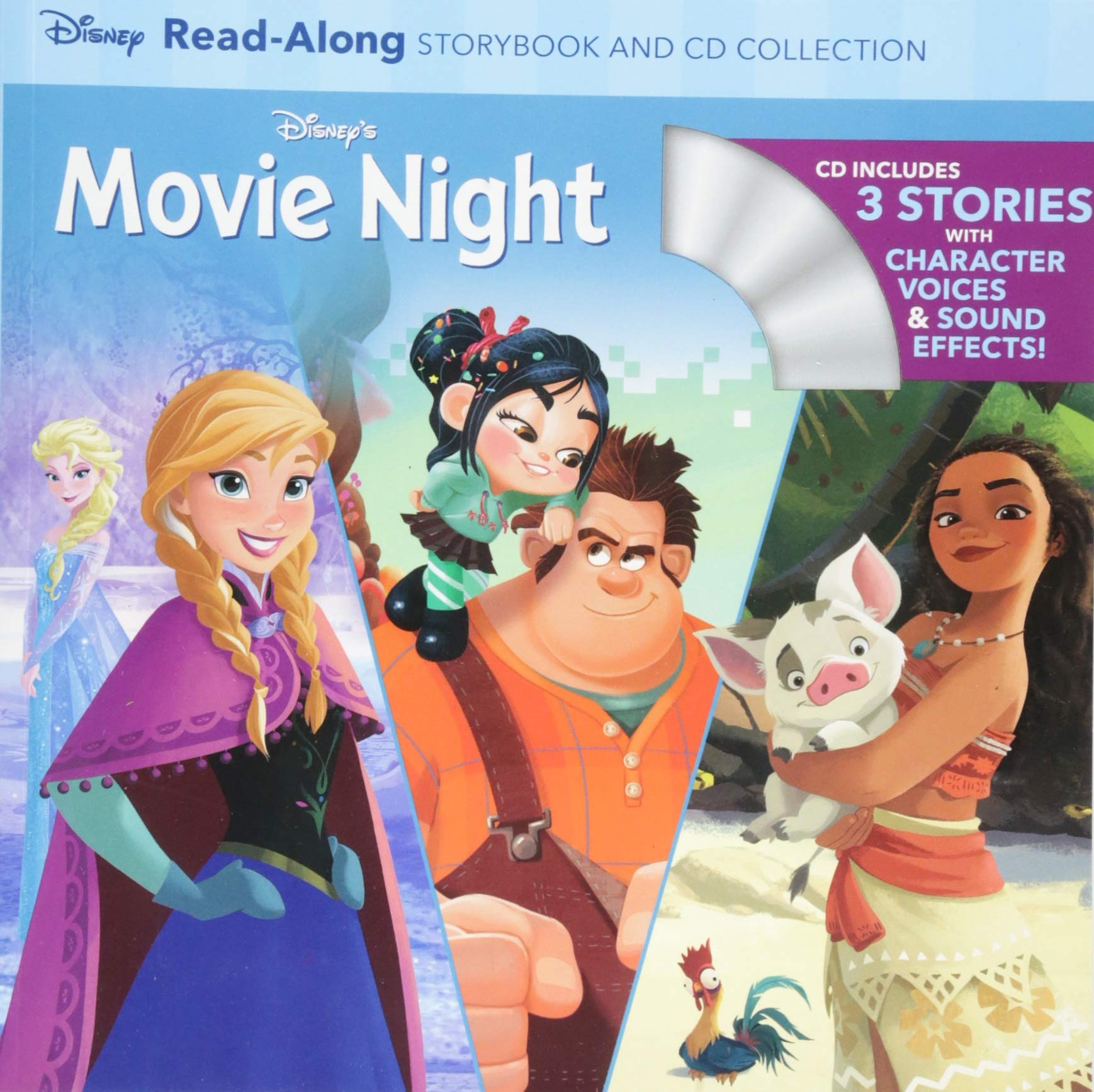 Disneys Movie Read Along Storybook Collection product image
