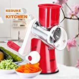 KEOUKE Rotary Cheese Grater Handheld - Nut