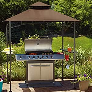 Sunjoy Replacement Canopy Set for Grill Shelter