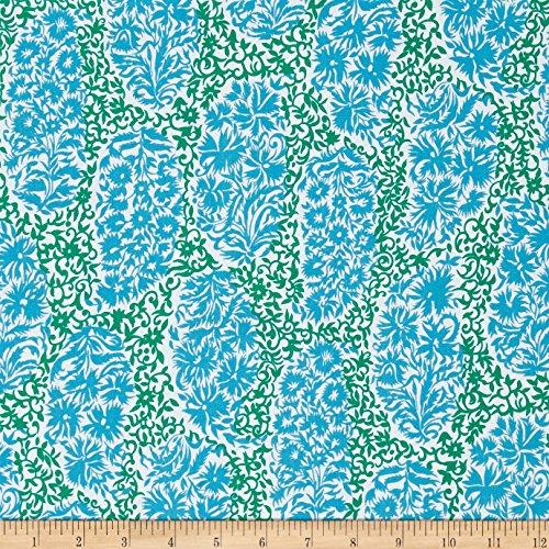 FreeSpirit Fabrics Jennifer Paganelli Sunny Isle Alberto Green Fabric by The Yard