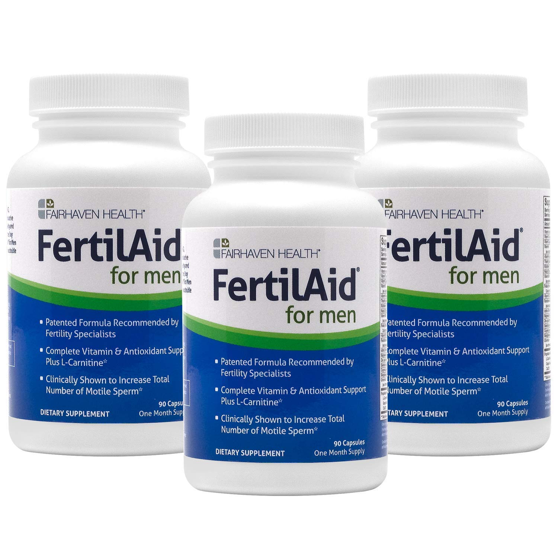 FertilAid for Men: Male Fertility Supplement - 3 Month Supply