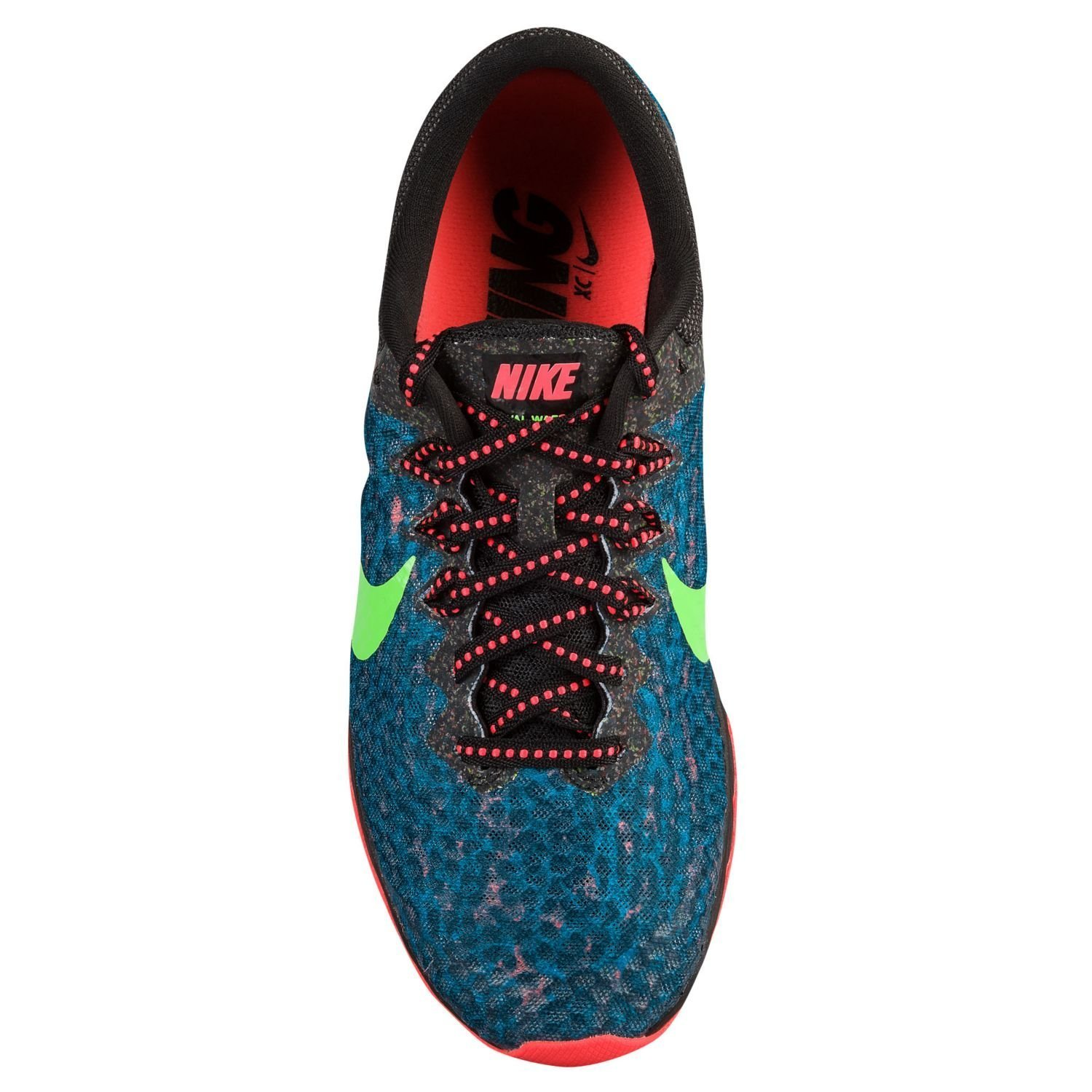 d1a2022dc3b6 good Nike Zoom Rival Waffle Black Hot Lava Voltage Green Size Mens 7.5