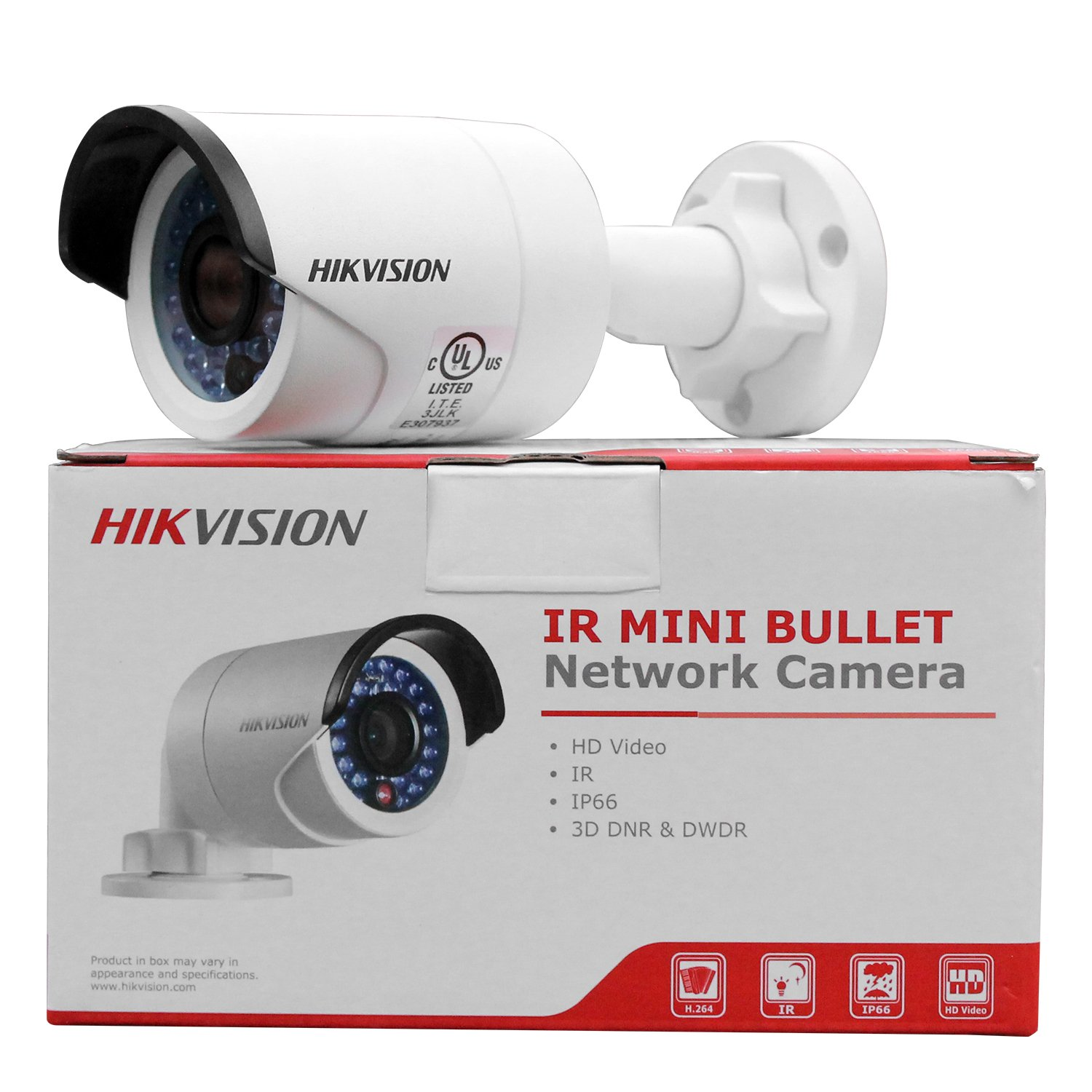 Amazon.com : HIKVISION DS-2CD2042D-I 4.0 MP Bullet Outdoor with 30m IR (Waterproof Day Night Motion Detection PoE Dual Stream Remote Access Plug and play) ...