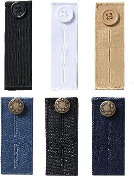 Denim Cintura Extensor//Expansor Pantalones//faldas Gancho De Ojal