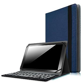 Fintie funda para teclado Bluetooth universal 9 - 10 inch ...