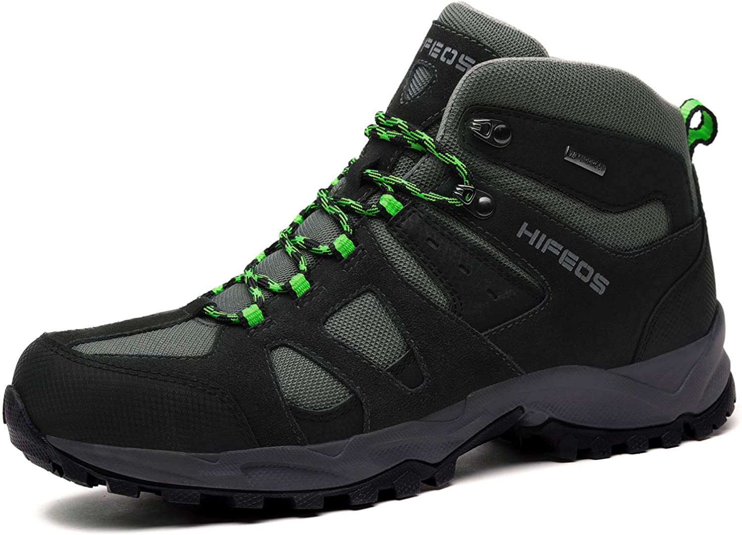 HIFEOS Hiking Boots Leather Trekking Shoes Outdoor Waterproof Backpacking Shoe