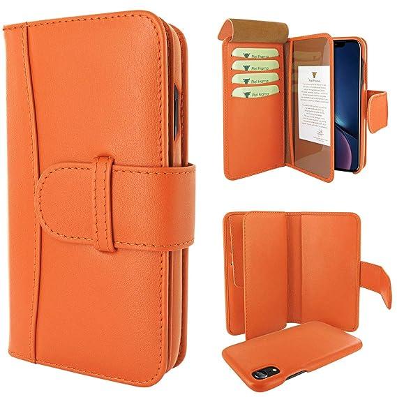 Amazon.com: Piel Frama iPhone XR WalletMagnum Leather Case ...