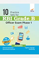10 Practice Sets for RBI Grade B Officer Exam Phase 1 Paperback