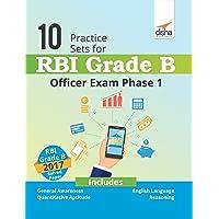 10 Practice Sets for RBI Grade B Officer Exam Phase 1