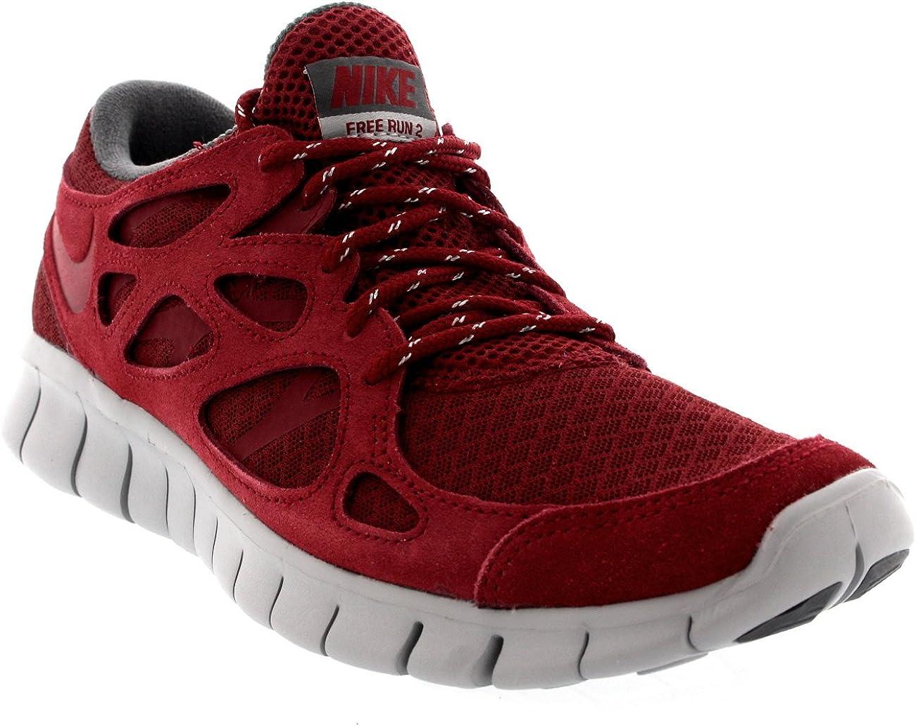 Nike Free Run 2 Zapatillas, Color Rojo, Talla 40.5 EU: Amazon.es: Zapatos y complementos