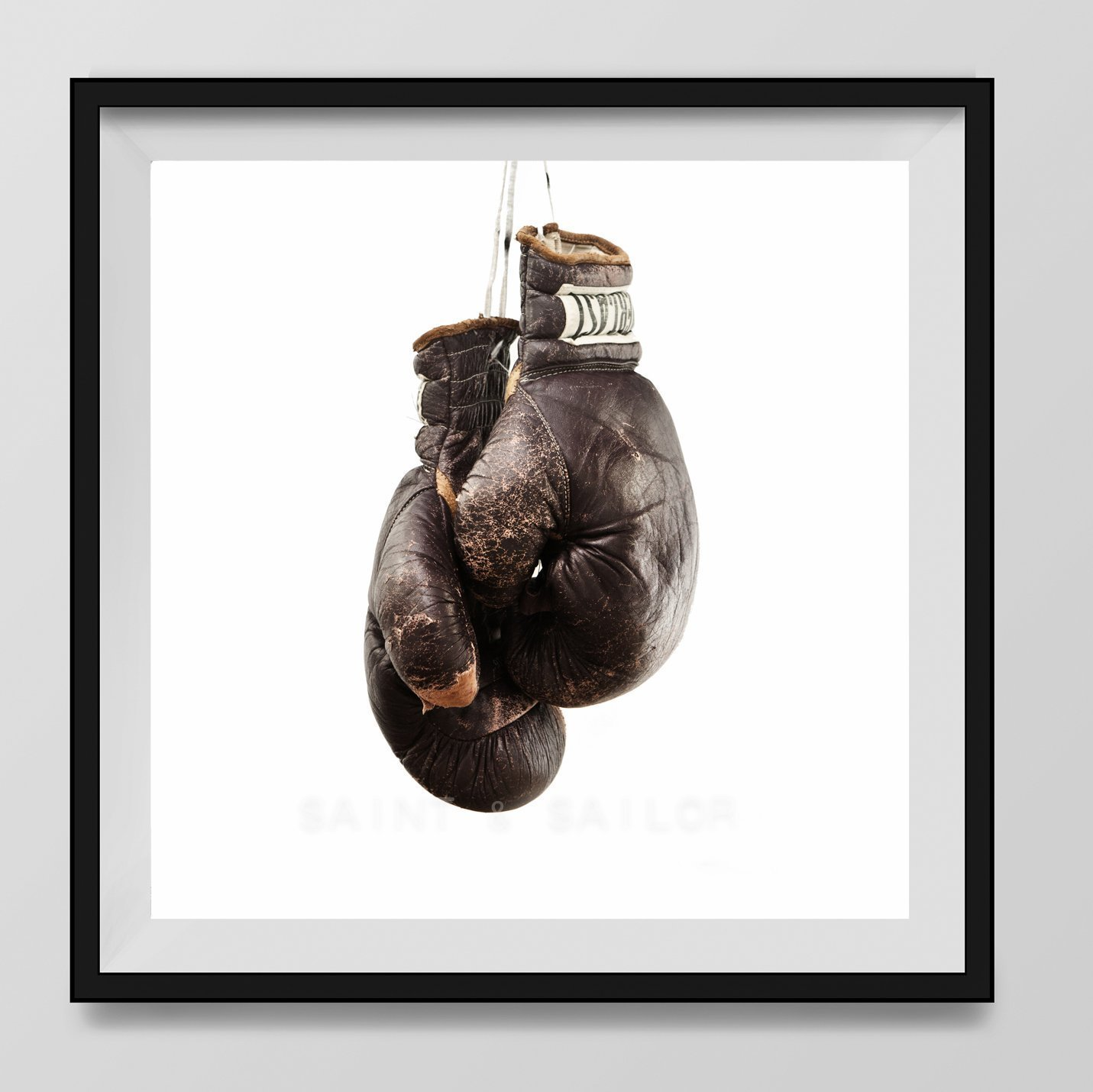 Vintage Boxing Gloves on White Background Fine Art Photography Print, Vintage Sports Nursery Art, Sports Decor, Man Cave art, Sport Prints, Boys Nursery decor, Kids Room Wall Art,