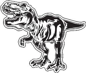 WickedGoodz T-Rex Decal - Dinosaur Bumper Sticker - Perfect for Laptops Tumblers Windows Cars Trucks Walls