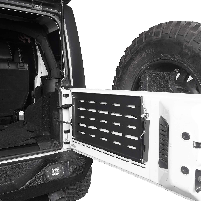 u-Box Jeep Wrangler JK 07-18 Tailgate Table Foldable Cargo Shelf