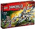 LEGO Ninjago - Playthèmes - 70748 - Jeu De Construction - Le Dragon De Titane