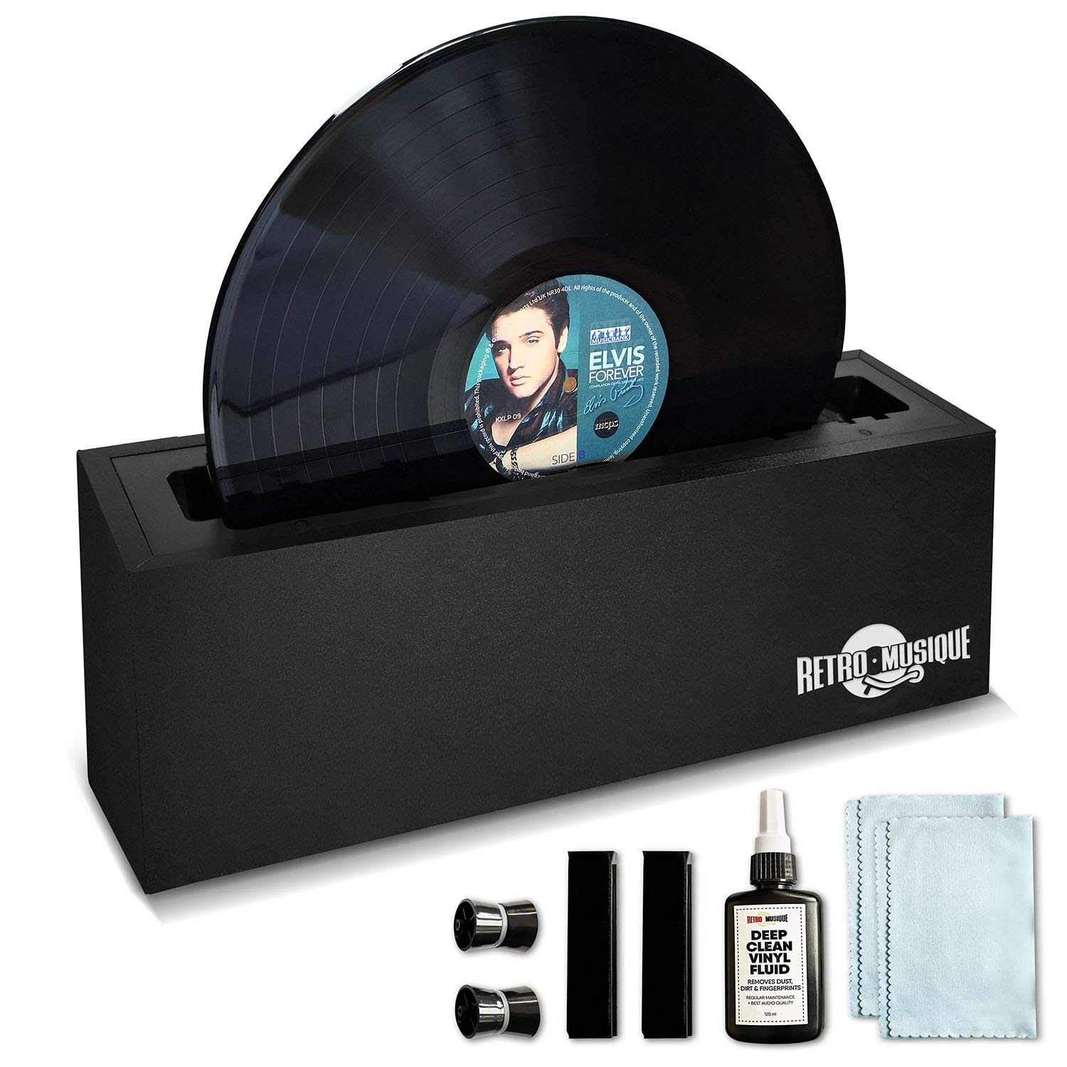 Retro Musique Vinyl Record Cleaning System. Everything you need to clean professionally and restore your albums and EPs.