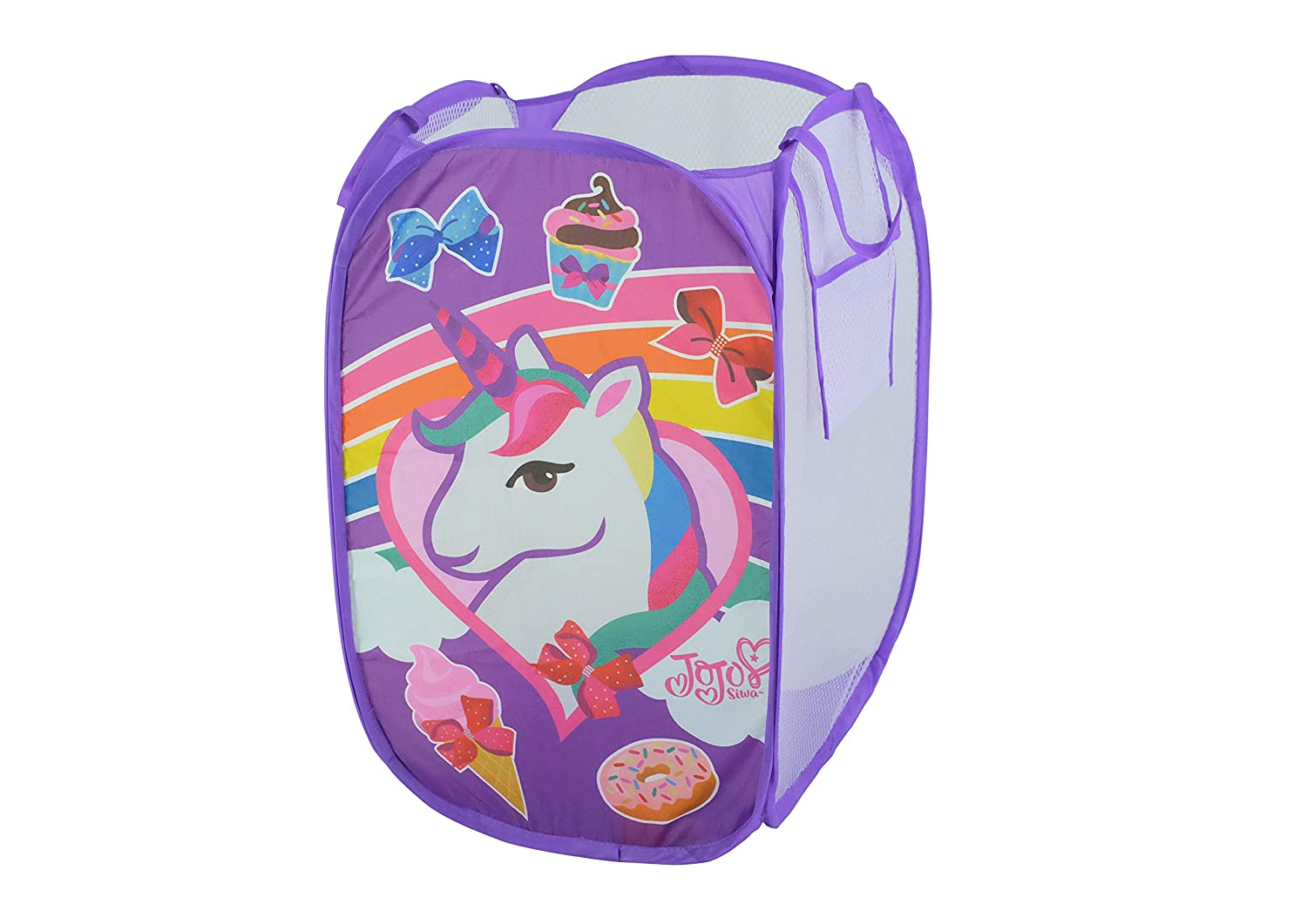 Nickelodeon JoJo Siwa Pop Up Laundry Bin, Purple