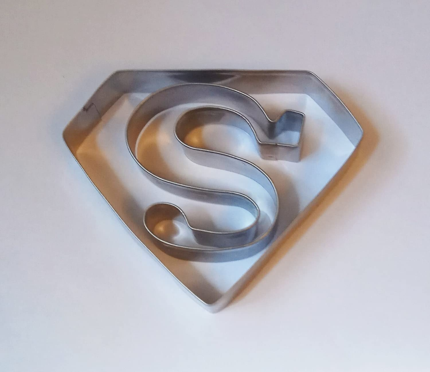 Lawman Superman Cookie Cutter Fondant Pastry Candy Baking Biscuit Metal Mold Lawmanstore LMSM2