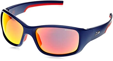 amazon com julbo stunt sunglasses spectron 3 blue red sports
