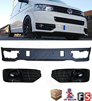 VW T5  FRONT SPLITTER BUMPER LIP SPOILER  SPORTLINE  ONLY FOR  FACELIFT 2010 ON