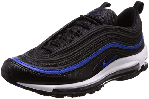 reputable site 0fe5e 5144e Nike Men's Air Max 97 OG Anthracite/Black Racer Blue Running Shoe 9 Men US