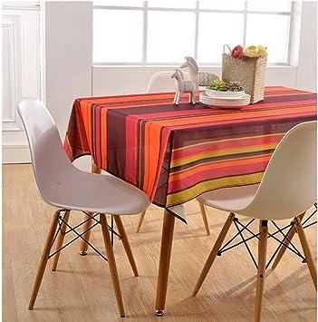 asvert manteles de mesa rectangular antimanchas de estilo rstico para decoracin hogarea