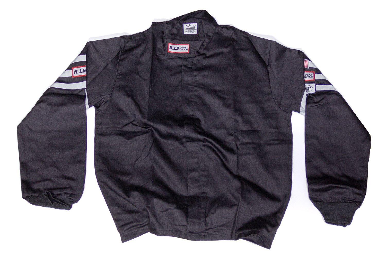 RJS SAFETY Black Large Single Layer Driving Jacket P/N 200010105