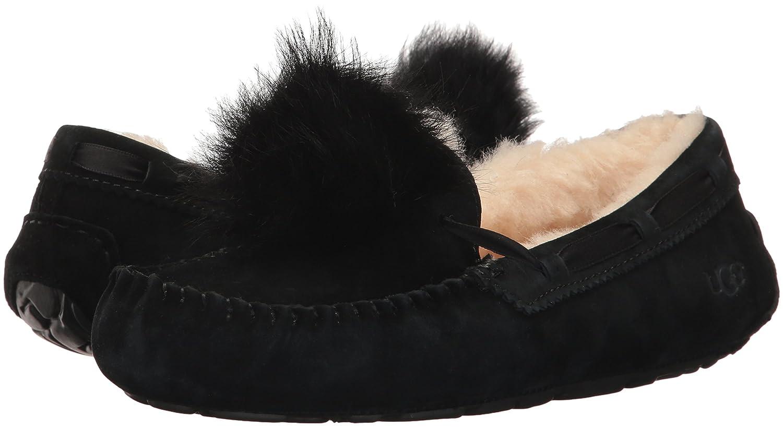 Mocasines para Mujer, Color Negro, Marca UGG, Modelo Mocasines para Mujer UGG W Dakota Pom Pom Negro: Amazon.es: Zapatos y complementos
