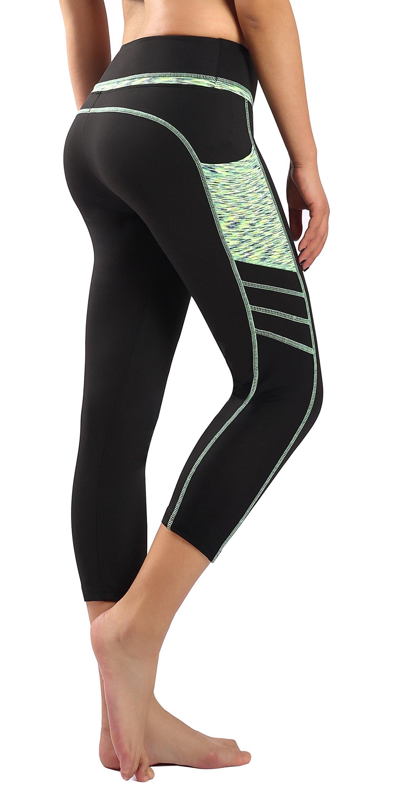Sugar Pocket Legging de Sport Femme Stretch Yoga Jogging Fitness Running  Taille Haute avec Poche cdac79d208e