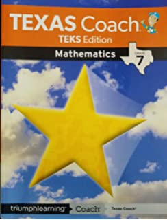 Texas coach: teks edition mathematics-grade 5: triumph learning.