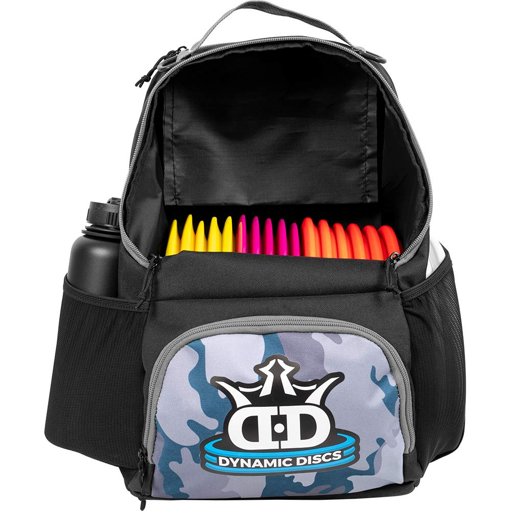 Dynamic Discs Cadet Disc Golf Backpack | Gray Camo | Frisbee Disc Golf Bag with 17+ Disc Capacity | Introductory Disc Golf Backpack | Lightweight and Durable ... by D·D DYNAMIC DISCS
