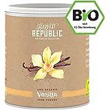 Natürliches Bio-Vanillepulver 25g - HARVEST REPUBLIC - perfekt für Shakes, Smoothies & Quark - ohne Zusätze -