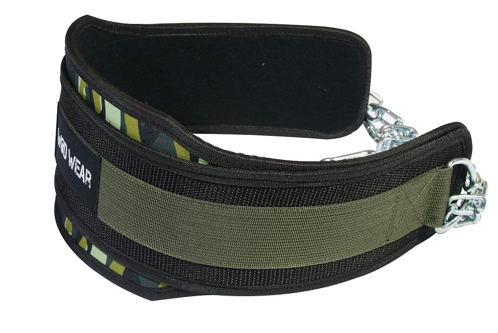 WOD Wear Professional Dip Belt With Heavy Duty 30'' Chain, Pull up Belt, Weight Belt for Dips and Chin Ups, Dipping belt, Weight Lifting Belt With Chain - Gym, Workouts by by WOD Wear