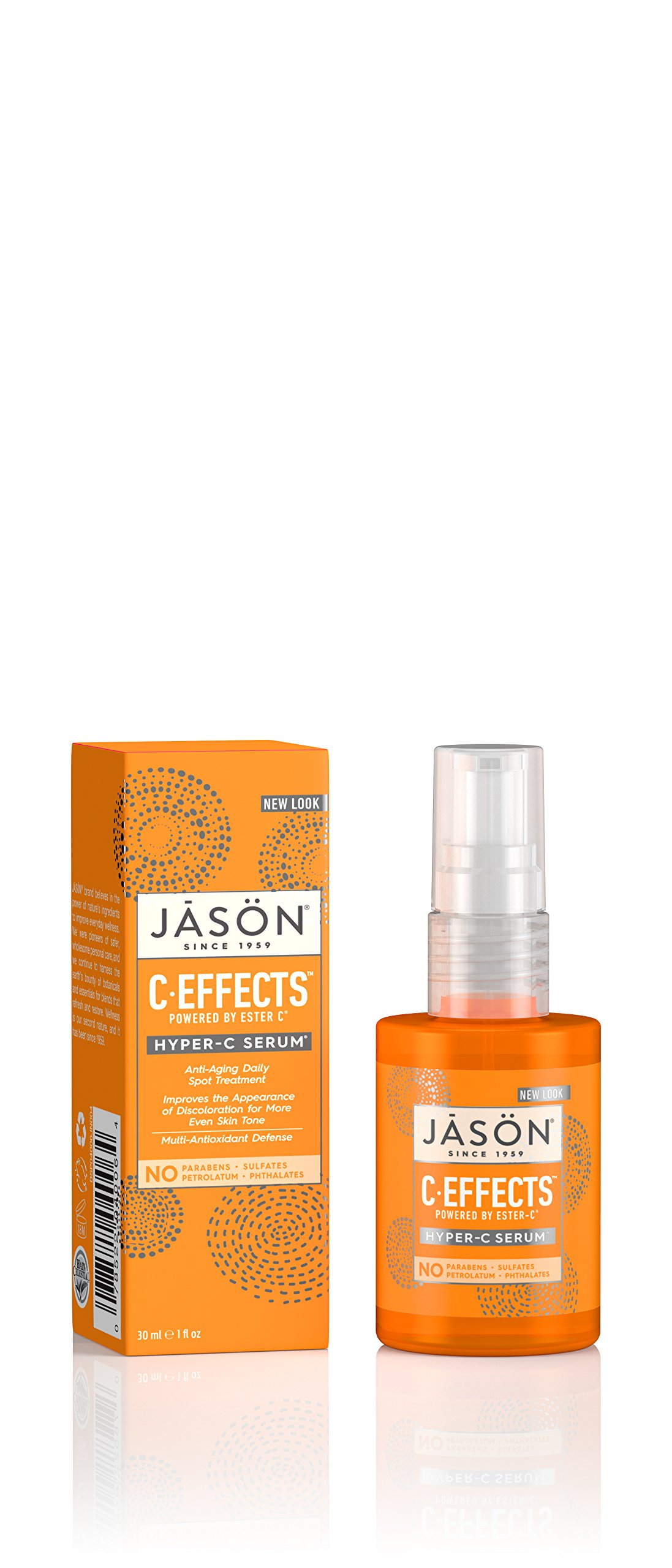 Jason C Hyper-C Serum, 1 oz Eminence - Chocolate Mousse Hydration Masque (Normal to Dry Skin) - 60ml/2oz