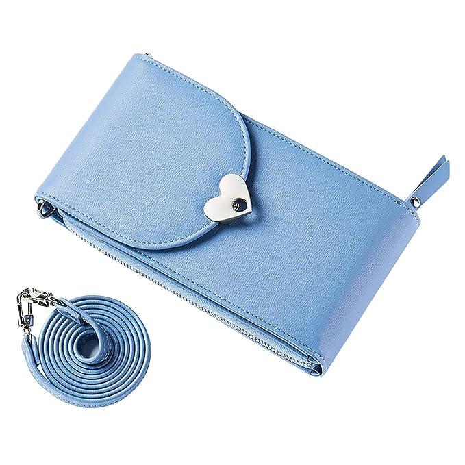 verschiedene Arten von üppiges Design Super Rabatt LAEMILIA Damen Geldbörse Crossbody-Geldbörse Brieftasche ...