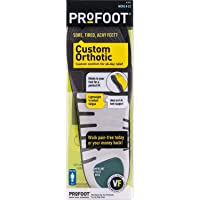 PROFOOT Custom Insole with Vita-Foam, Men's 8-13, 1 Pair