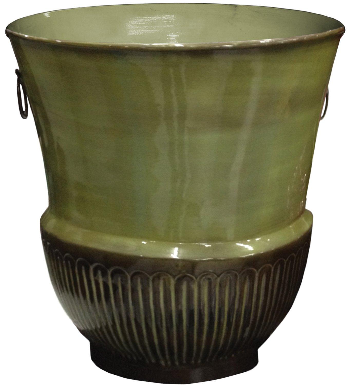 Robert Allen Home & Garden MPT01823 Croft Urn, 17'', Basil by Robert Allen Home and Garden