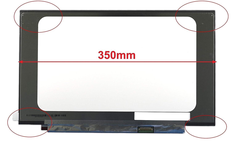 FULLCOM New 14 Screen for N140BGA-EB4 Replacement 1366X768 30 pins Narrow Edge Bottom Right Connector
