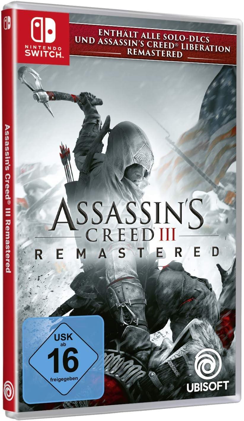 Assassins Creed III Remastered - Nintendo Switch [Importación ...