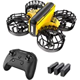 Holy Stone HS450 Mini Drone, Hand Operated and Remote Control Nano Quadcopter for Kids, with 3 Batteries, Throw to Go…