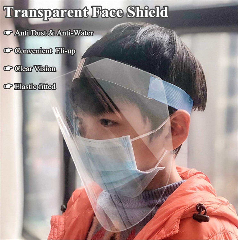Haushalt K/üche Kochen Anti-/Öl Verwenden Sie Wasser Staub Nebel Visier Pr/ävention PANGHU Gesichtsschutz Transparenter Gesichtsschutz f/ür Labor