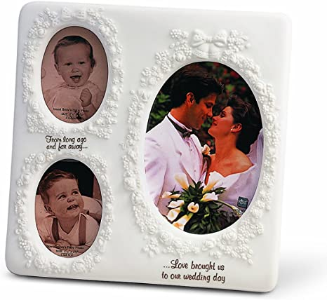 Amazon Com Russ Now And Then Wedding Frame 4 By 6 Inch