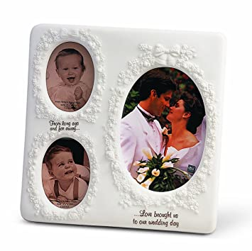 Amazoncom Russ Now And Then Wedding Frame 4 By 6 Inch