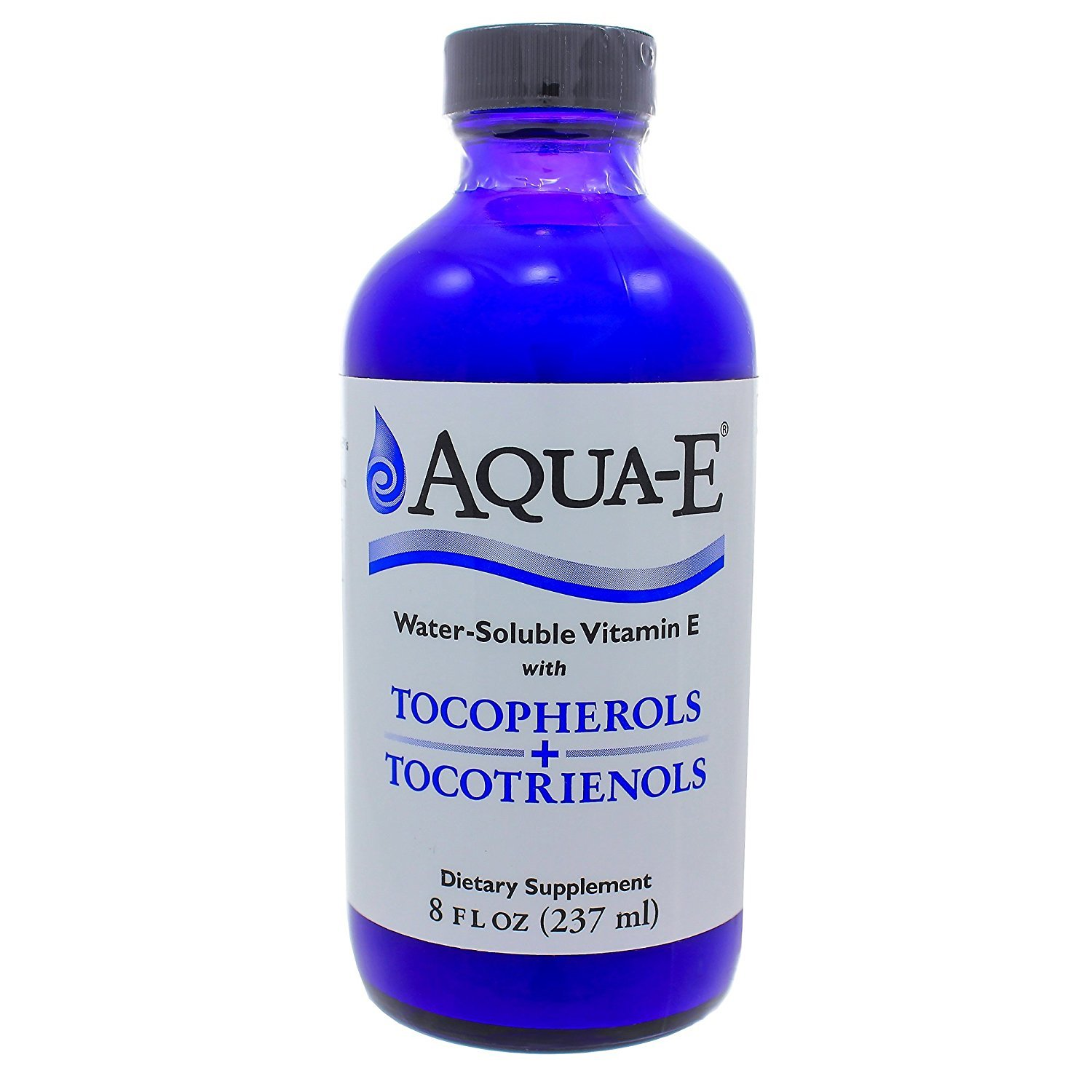 Aqua-E Water-Soluble Vitamin E; Tocopherols & Tocotrienols; 8 fl oz
