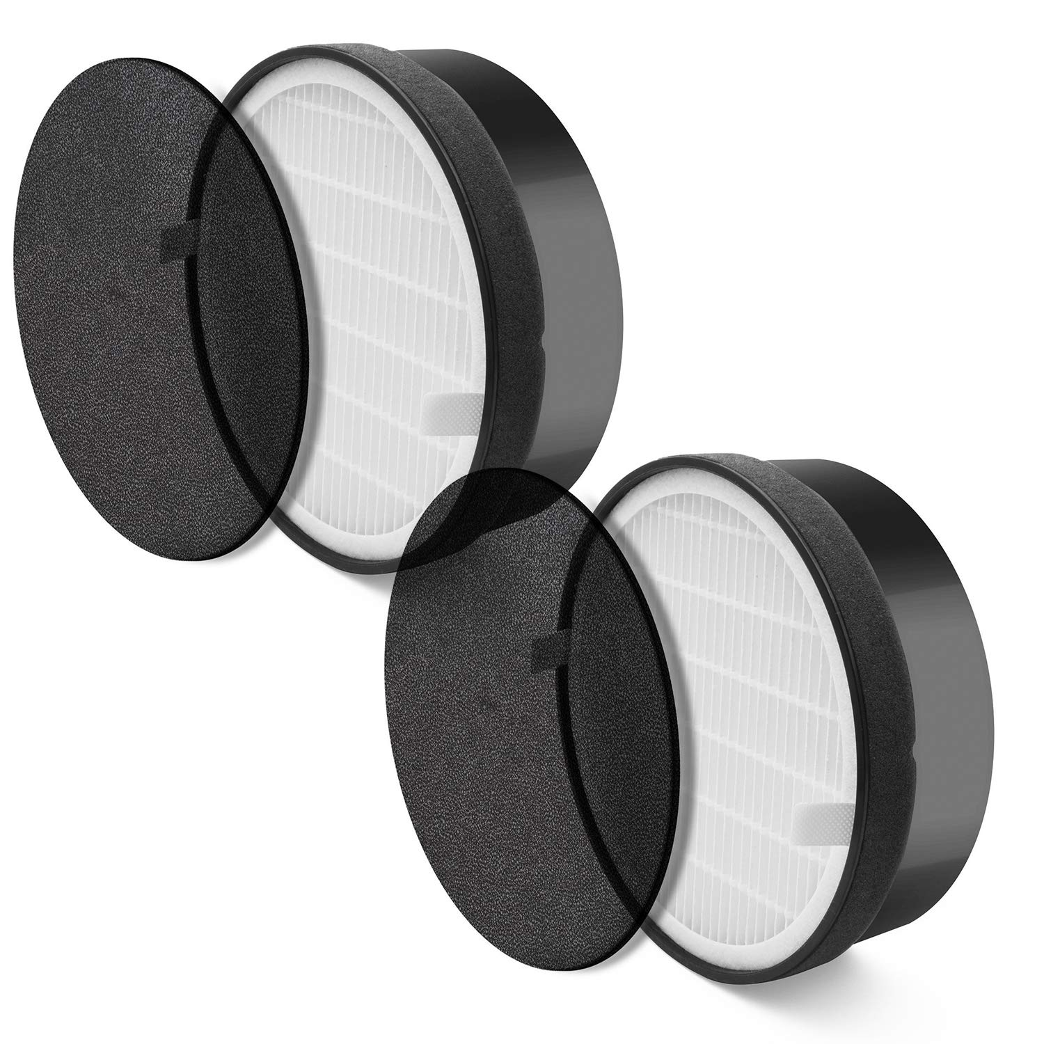 LEVOIT LV-H132 Air Purifier Replacement Filter, LV-H132-RF (2 Pack)