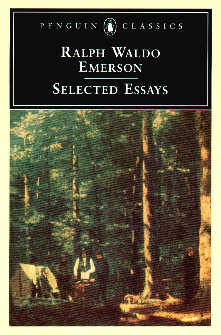 Emerson nature and selected essays american views essays on american art