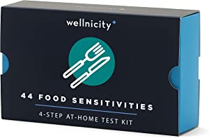 Wellnicity at-Home Food Sensitivities Test Kit, Measures 44 Foods