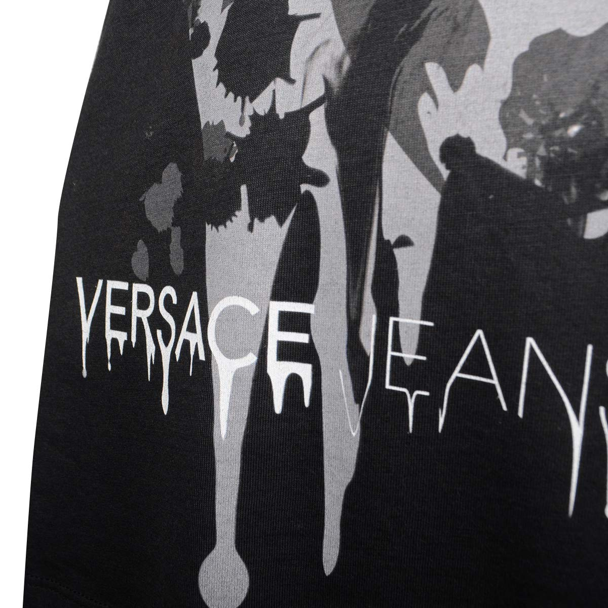 Versace Jeans Jeans Jeans T-Shirt Art nero - B2HOA7A2   Art nero - Dimensione 40 (EU) - IT44 c49a41