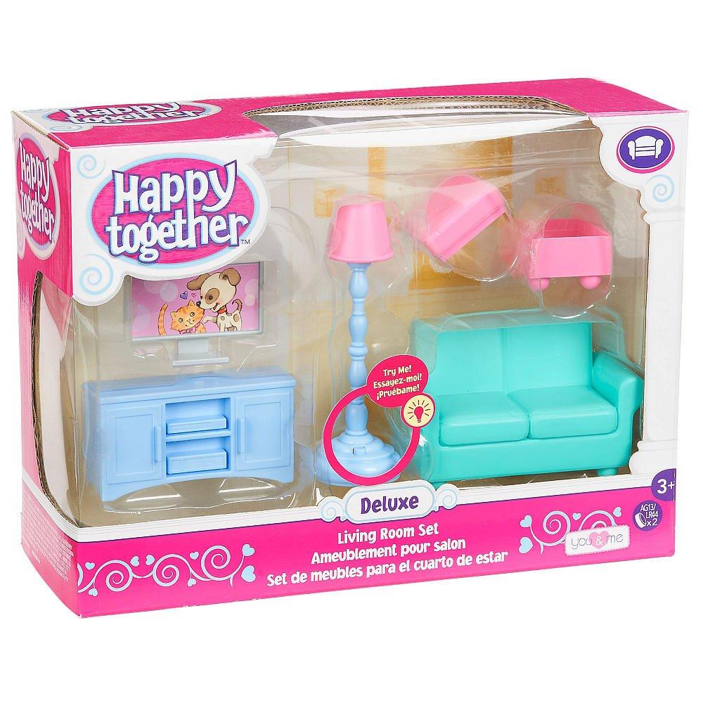 Amazon.com: You U0026 Me Happy Together Deluxe Living Room Set: Toys U0026 Games