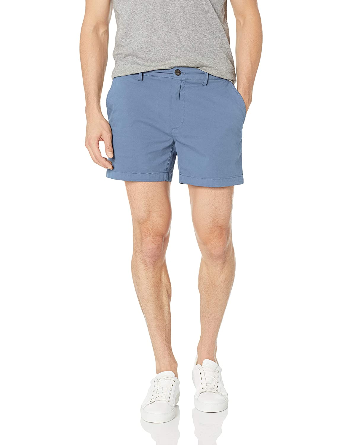 Goodthreads Mens Standard 5' Inseam Flat-Front Stretch Chino Short GT191330FL18